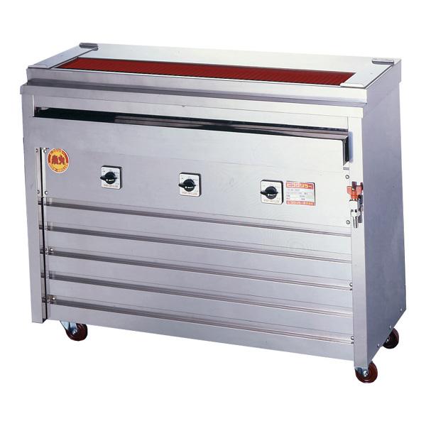 新品 ヒゴグリラー電気式焼鳥焼器(大串) 床置型幅1060×奥行410×高さ850(mm)3P-212XW