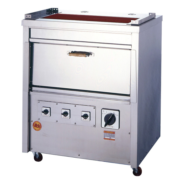 新品 ヒゴグリラー電気式焼物器(グリラー) オーブン付きタイプ幅870×奥行650×高さ1040(mm)GO-15
