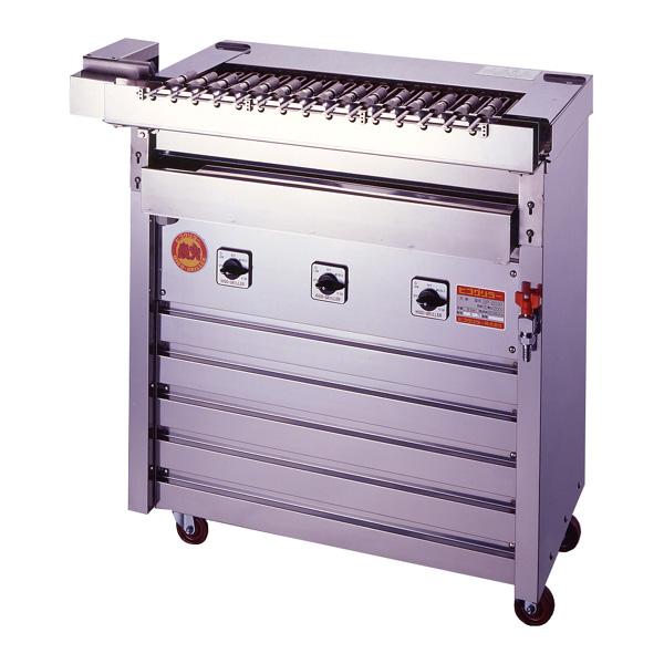 新品 ヒゴグリラー電気式焼物器(グリラー) クルクル回転串焼機幅880×奥行530×高さ950(mm)3K-009X