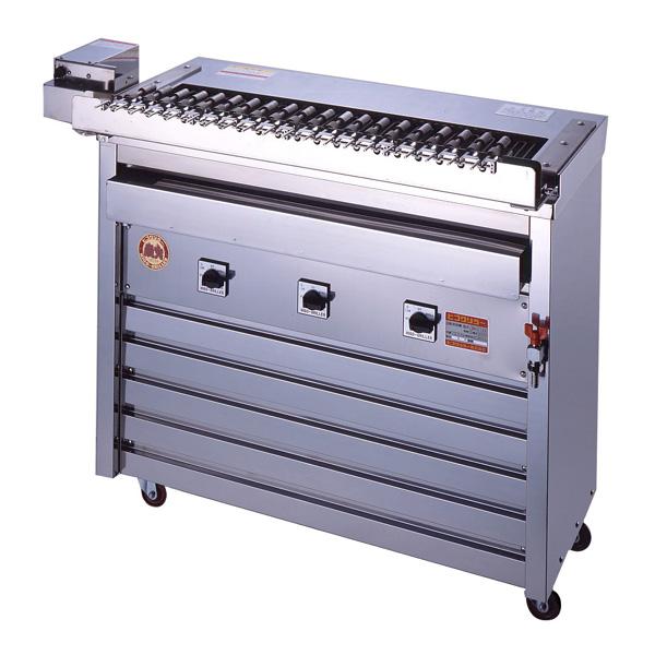 新品 ヒゴグリラー電気式焼物器(グリラー) クルクル回転串焼機幅1080×奥行530×高さ950(mm)3K-012X