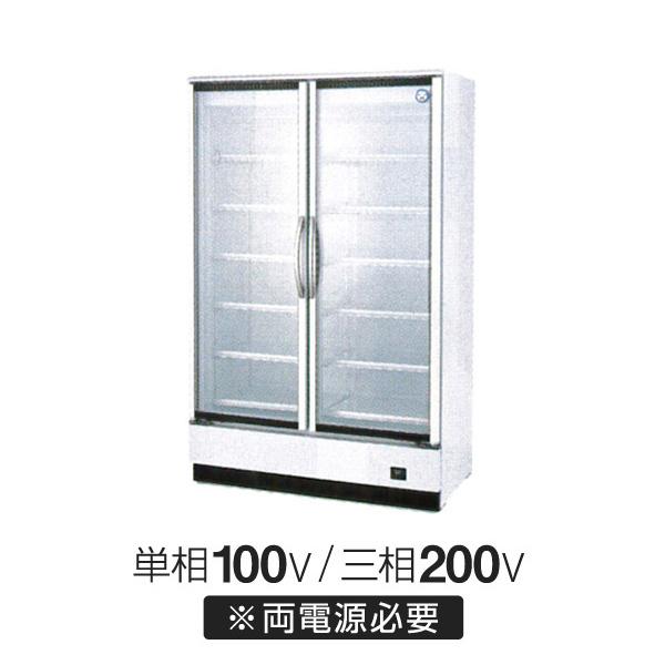 新品:福島工業(フクシマ) リーチイン冷凍ショーケース スイング扉タイプ 幅1200×奥行800×高さ1900(mm) MRF-120FWTR