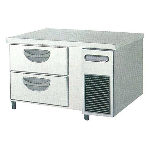 新品 福島工業(フクシマ)横型 ドロワーテーブル冷凍庫 2段 ユニット右置き仕様幅900×奥行600×高さ550(mm)TBC-32FM3-R