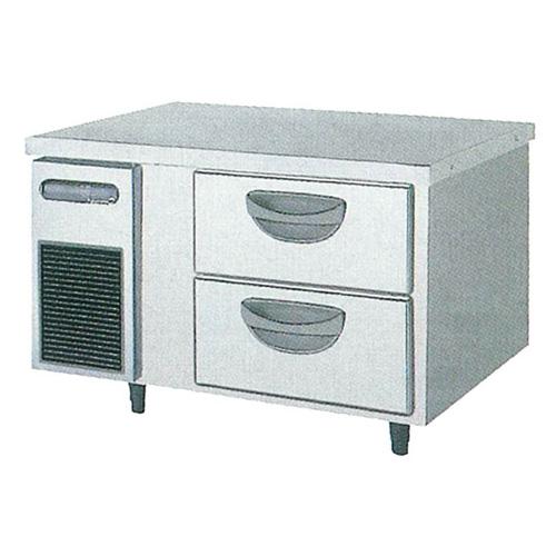 新品 福島工業(フクシマ)横型 ドロワーテーブル冷凍庫 2段幅900×奥行600×高さ550(mm)TBC-32FM3