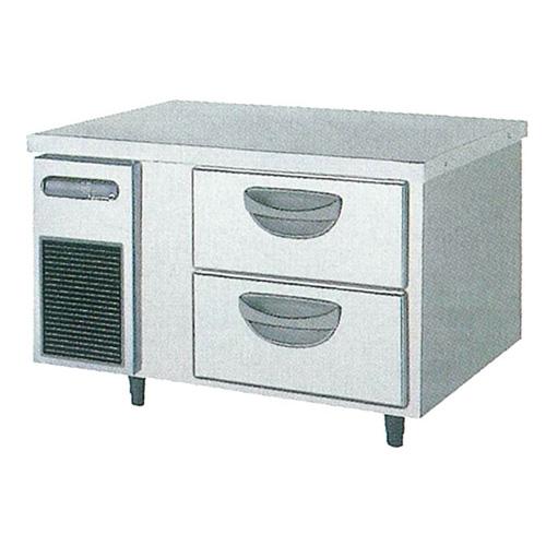 新品 福島工業(フクシマ)横型 ドロワーテーブル冷蔵庫 2段幅900×奥行750×高さ550(mm)TBW-30RM2