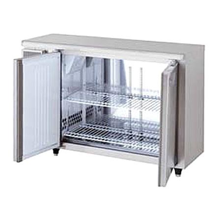 新品:福島工業(フクシマ)業務用横型冷蔵庫 超薄型 コールドテーブル [センターフリー]幅1200×奥行450×高さ800(mm)TMU-40RM2-F