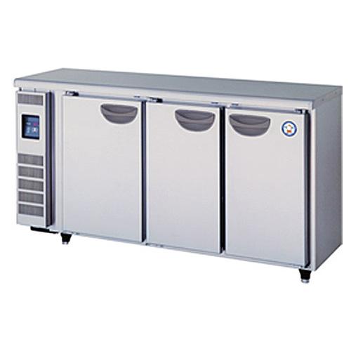 新品 福島工業(フクシマ)業務用横型冷蔵庫 超薄型 コールドテーブル幅1500×奥行450×高さ800(mm)TMU-50RE2
