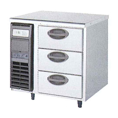 限定価格セール! 新品 福島工業(フクシマ)横型 新品 ドロワーテーブル冷蔵庫 3段幅755×奥行750×高さ800(mm)YDW-080RM2, 東大和市:e8be9ca0 --- canoncity.azurewebsites.net
