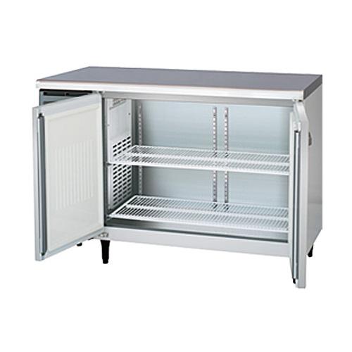 新品 福島工業(フクシマ)業務用横型冷蔵庫 コールドテーブル センターフリータイプ 241リットル幅1200×奥行600×高さ800(mm)YRC-120RE2-F