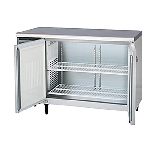 新品 福島工業(フクシマ)業務用横型冷蔵庫 コールドテーブル センターフリータイプ 241リットル幅1200×奥行600×高さ800(mm)YRC-120RM2-F