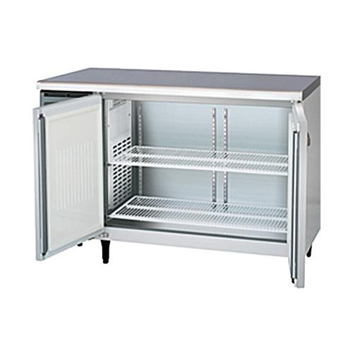 新品 福島工業(フクシマ)業務用横型冷凍庫 コールドテーブル センターフリータイプ 241リットル幅1200×奥行600×高さ800(mm)YRC-122FE2-F
