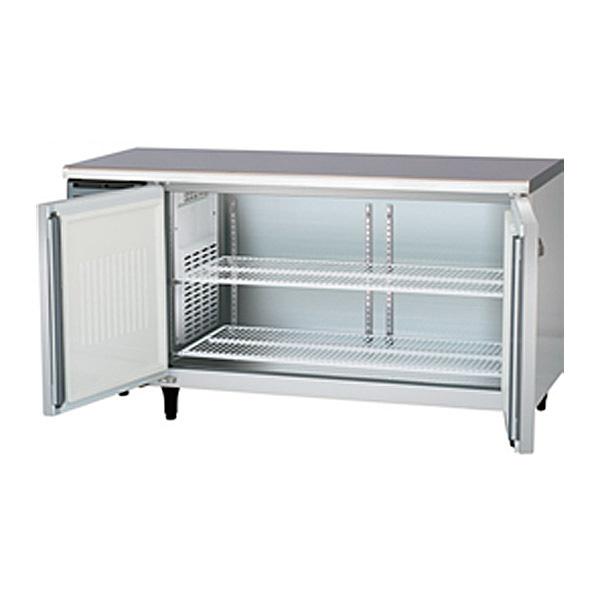 新品:福島工業(フクシマ)業務用横型冷蔵庫 コールドテーブル センターフリータイプ 329リットル幅1500×奥行600×高さ800(mm)YRC-150RM2-F