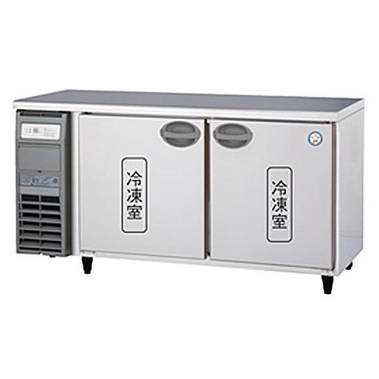 新品 福島工業(フクシマ)業務用横型冷凍庫 コールドテーブル 327リットル幅1500×奥行600×高さ800(mm)YRC-152FM2