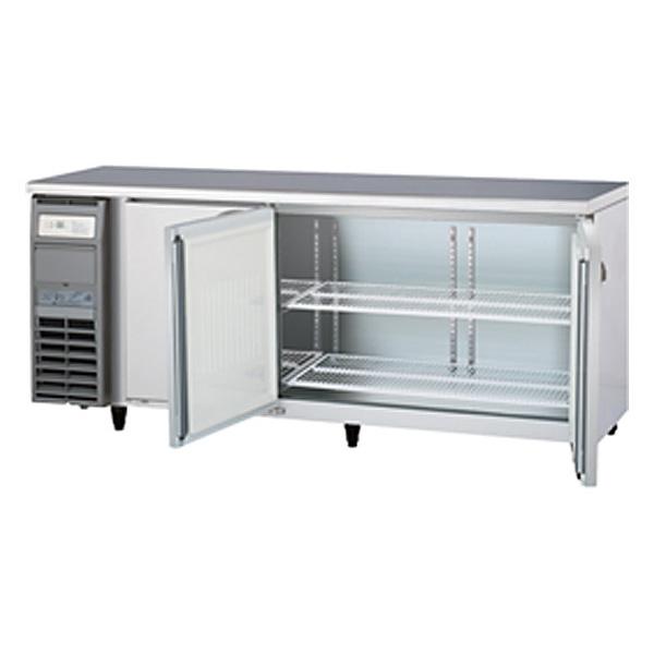 新品 福島工業(フクシマ)業務用横型冷蔵庫 コールドテーブル センターフリータイプ 414リットル幅1800×奥行600×高さ800(mm)YRC-180RM2-F