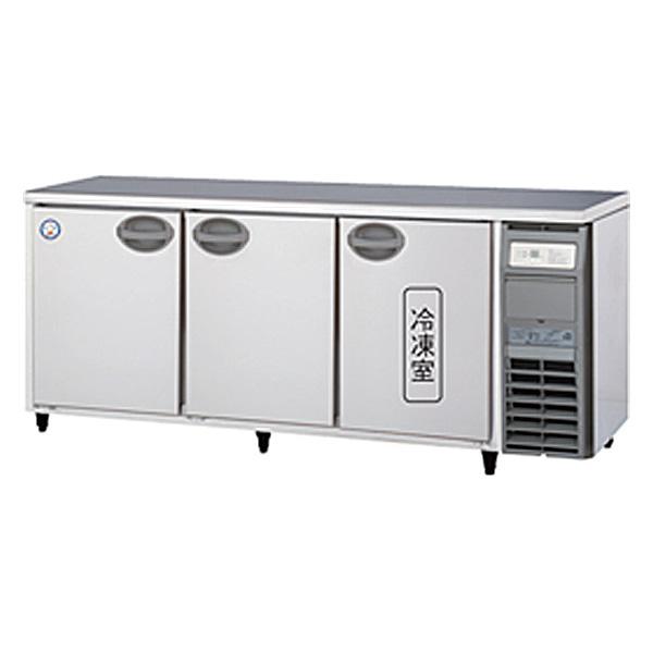 新品 福島工業(フクシマ)業務用横型冷凍冷蔵庫 コールドテーブル ユニット右置き仕様 1室冷凍タイプ幅1800×奥行600×高さ800(mm)YRC-181PM2-R