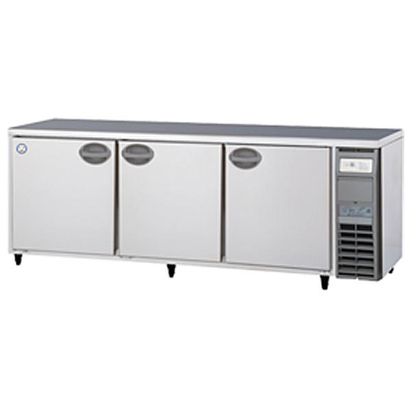 新品 福島工業(フクシマ)業務用横型冷蔵庫 コールドテーブル ユニット右置き仕様 500リットル幅2100×奥行600×高さ800(mm)YRC-210RM2-R