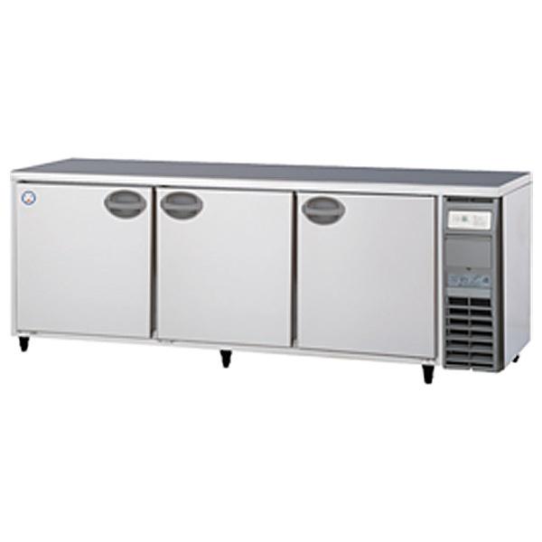 新品 福島工業(フクシマ)業務用横型冷蔵庫 コールドテーブル ユニット右置き仕様 656リットル幅2100×奥行750×高さ800(mm)YRW-210RM2-R