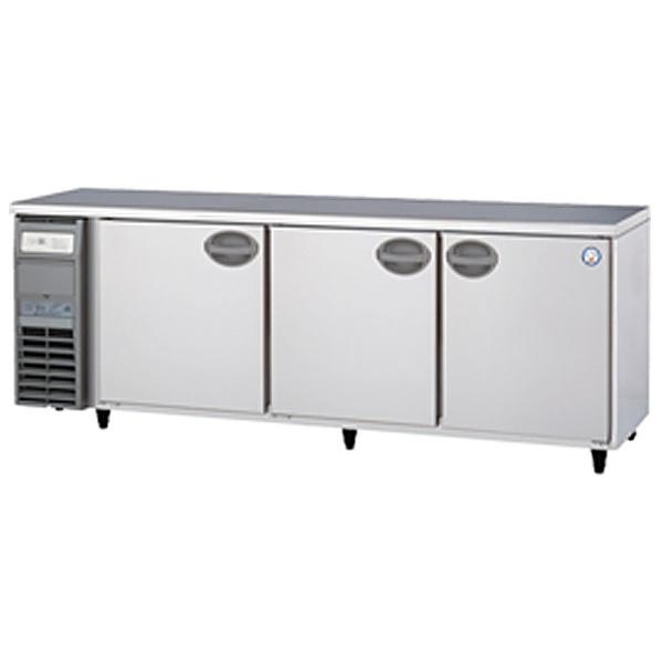 新品 福島工業(フクシマ)業務用横型冷蔵庫 コールドテーブル 656リットル幅2100×奥行750×高さ800(mm)YRW-210RM2