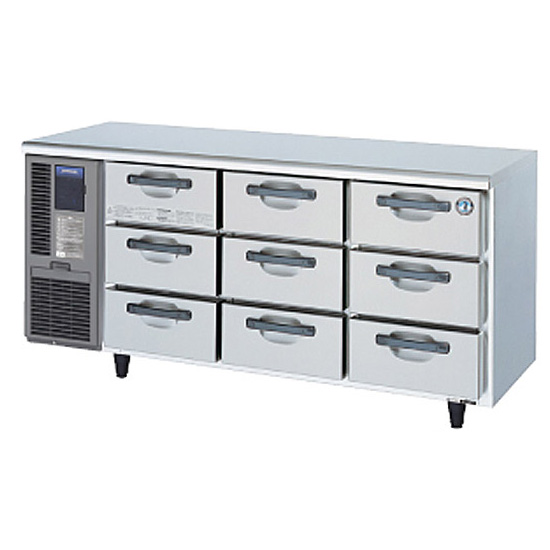 新品 ホシザキテーブル形ドロワー冷蔵庫幅1650×奥行600×高さ800(mm)RT-165DNF