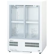 新品: パナソニック 冷蔵ショーケース スライド扉 小型 144LSMR-M86NC (旧型番: SMR-M86NB )