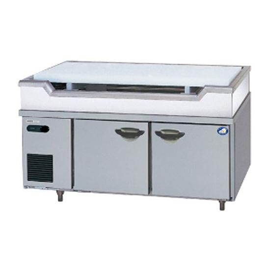新品:パナソニック 舟形シンク付コールドテーブル冷蔵庫1200×600×800 SUR-GL1261SA-S