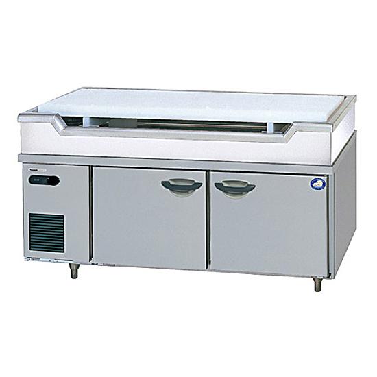 新品 パナソニック 舟形シンク付コールドテーブル冷蔵庫1500×600×800 SUR-GL1561SA-S