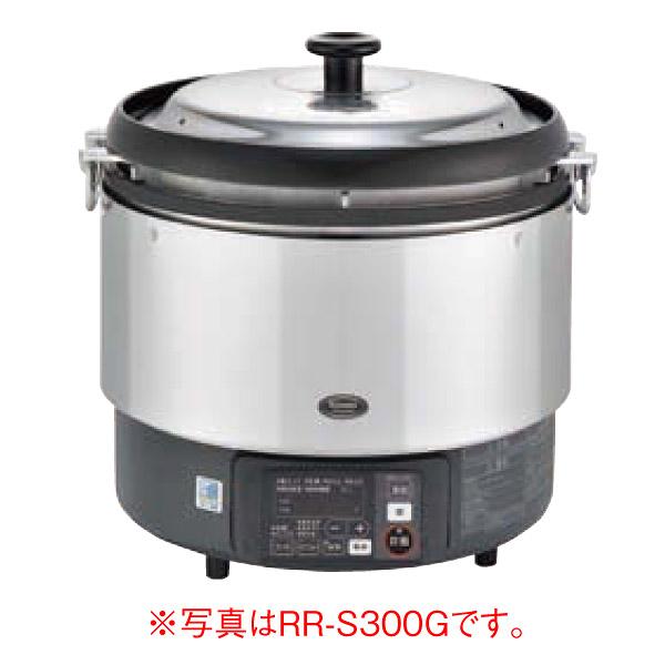 新品 リンナイ ガス炊飯器 αかまど炊き RR-S300G-HB(都市ガス用) 6.0L(3升)幅466x奥行439x高さ460(mm)卓上型(マイコン制御タイプ) 業務用炊飯器