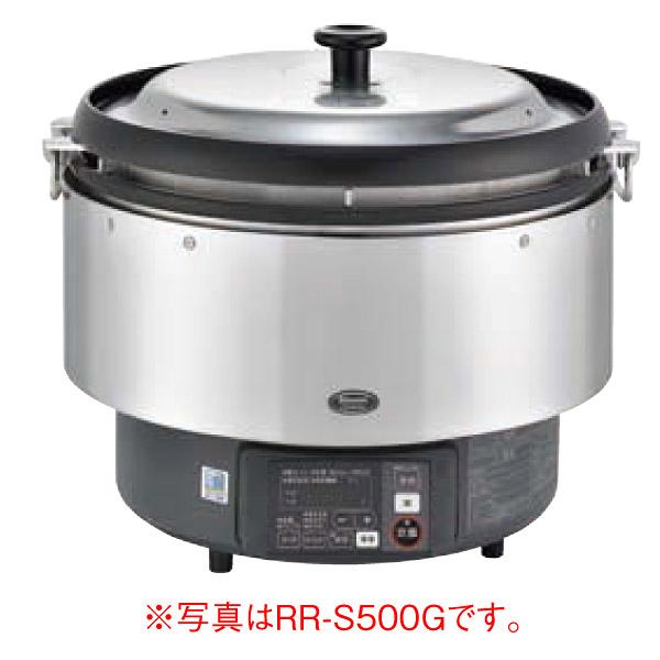 新品 リンナイ ガス炊飯器 αかまど炊き RR-S500G-H 6.0L(3升)幅543x奥行506x高さ460(mm)卓上型(マイコン制御タイプ) 業務用炊飯器