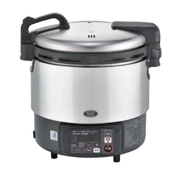 新品:リンナイ ガス炊飯器 αかまど炊き RR-S200GV 4.0L(2升)幅451x奥行384x高さ452(mm)卓上型(マイコン制御タイプ) 業務用炊飯器