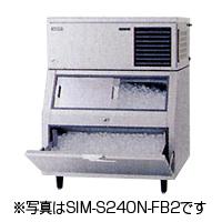 新品:パナソニック スタックオンタイプ製氷機240kg水冷式 SIM-S240W-FB2