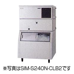 新品:パナソニック スタックオンタイプ製氷機240kg水冷式 SIM-S240W-CLB2