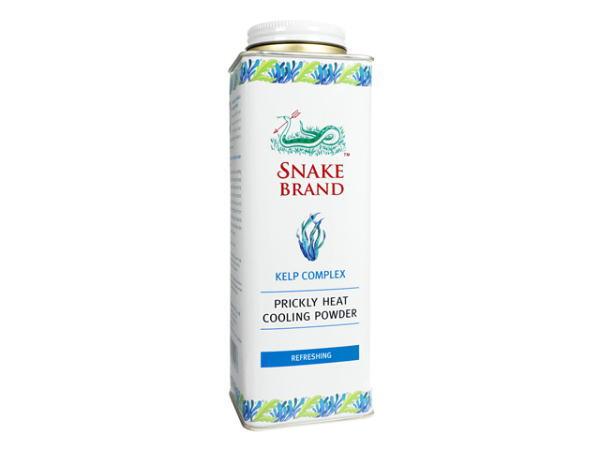 (スネークブランド)プリックリーヒート・クーリングパウダー(ケルプコンプレックス) 280g  [ヤマト便] ×6本【代引不可能商品】 SnakeBrand Prickly Heat 280g (Refreshing)
