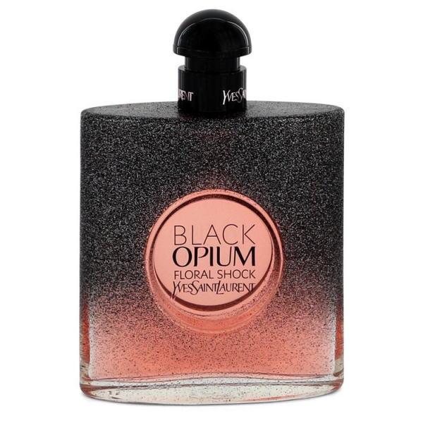 イヴサンローラン ブラック オピウム フローラル ショック EDP オードパルファム SP 90ml (テスター・未使用)イブサンローラン YSL YVES SAINT LAURENT BLACK OPIUM FLORAL SHOCK EAU DE PARFUM SPRAY(TESTER)