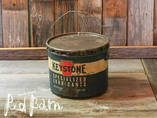【商品合計税込3980円で送料無料】 ヴィンテージ USA オイル缶 KEYSTONE【再入荷4回目】