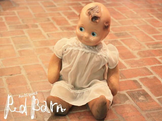 【商品合計税込3980円で送料無料】 アンティーク人形 キューピー