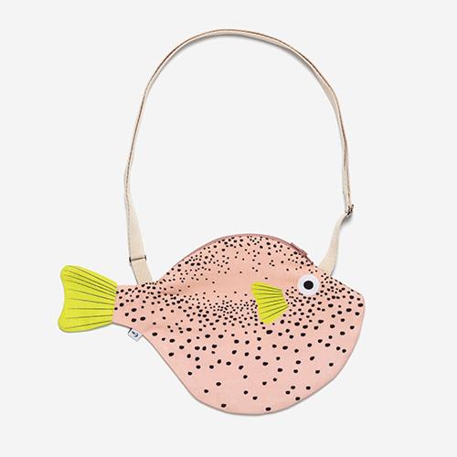 ドンフィッシャー フグ ショルダーバッグ S (Donfisher pufferfish 魚 カバン おしゃれ 北欧雑貨 ギフト フィッシュ ドン・フィッシャー)【送料無料】