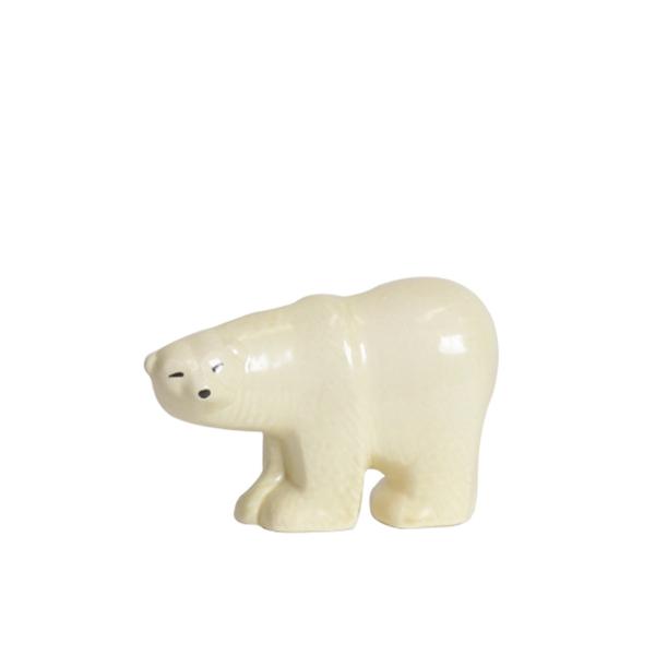 リサ・ラーソン シロクマ ミニ / LISA LARSON Polar Bear / 【正規代理店品】【リサラーソン】【しろくま】【陶器】【置物】【インテリア】【北欧雑貨】【オブジェ】【Lisa Larson】【SKANSEN】【送料無料】