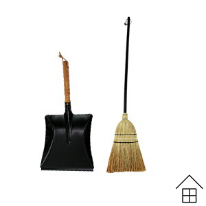 【セット】レデッカー ソルガムほうき Sサイズ 80cm&ダストパンセット / 【正規代理店品】【Redecker】 【ホウキ】【ブルーム】【レデッカー】【ドイツ】【掃除道具】