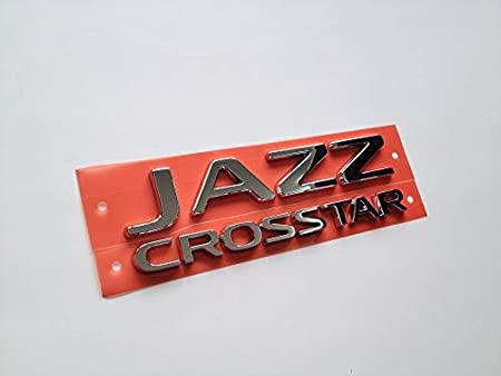 ポイント2倍 GR系 新型フィット HONDA FIT CROSSTAR 与え クロスター 輸出仕様パーツ フィット リアエンブレム JAZZ SALENEW大人気! ホンダ