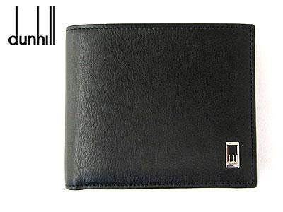 ダンヒル 財布 【dunhill】ダンヒル 二つ折り財布(小銭入れ付)メンズ サイドカー ブラックライン QD3070A【送料無料】