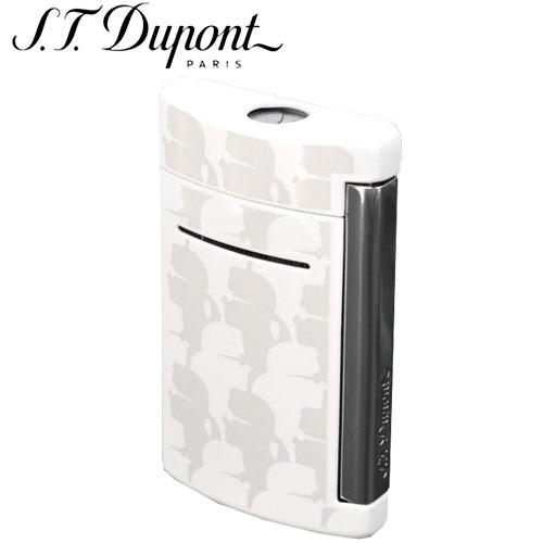 【S.T.DUPONT】デュポン 電子ガスターボライター ミニジェット カール・ラガーフェルド ホワイト 10071【送料無料】