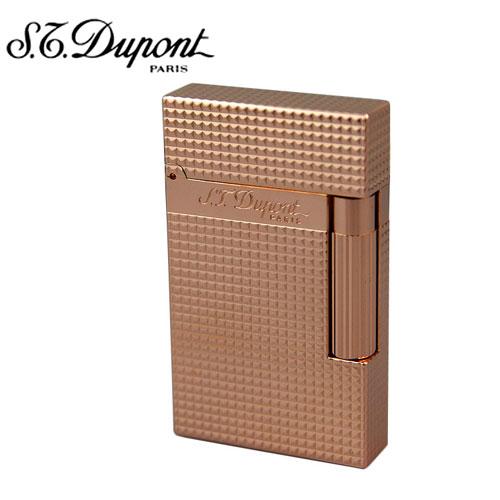 【S.T.DUPONT】デュポン ライター ライン2 ダイヤモンドヘッド ピンクゴールド 16424【送料無料】