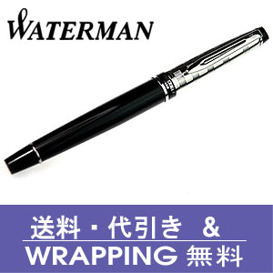 【WATERMAN】ウォーターマン 万年筆 エキスパートDX ブラックCTFP 万年筆【送料無料】