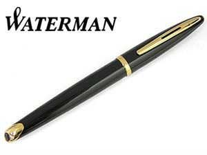 【WATERMAN】ウォーターマン 万年筆 カレン ブラック・シーGTFP 万年筆【送料無料】