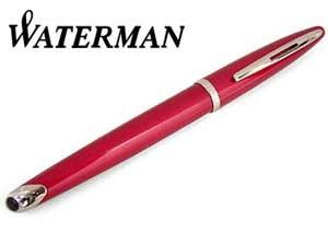 【WATERMAN】ウォーターマン 万年筆 カレン グロッシーレッドSTFP 万年筆【送料無料】