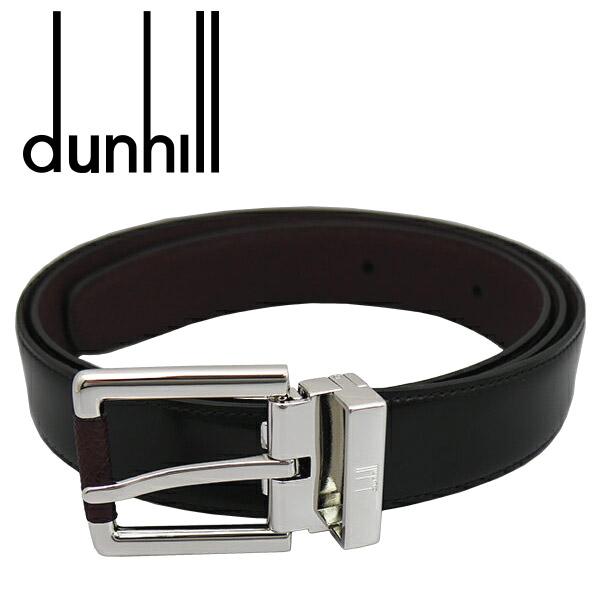 【dunhill】ダンヒル ベルト(リバーシブル)ベルト メンズ ブランド ブラック/ブラウン HPV222A【送料無料】