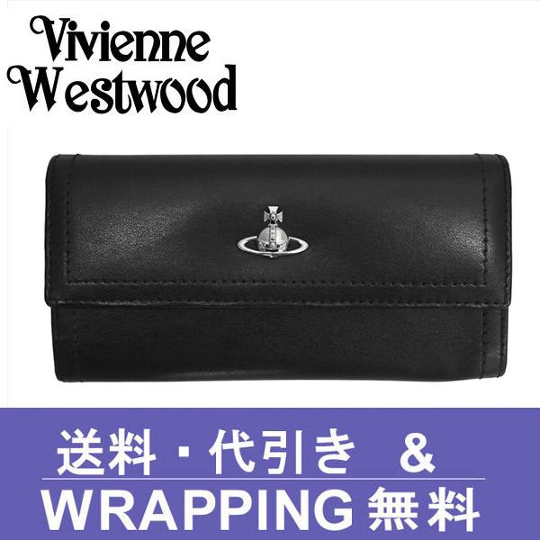 ヴィヴィアン 財布【Vivienne Westwood】ヴィヴィアン ウエストウッド 長財布(小銭入れ付) レディース ブラック 51060022 CAMBRIDGE BLACK【送料無料】
