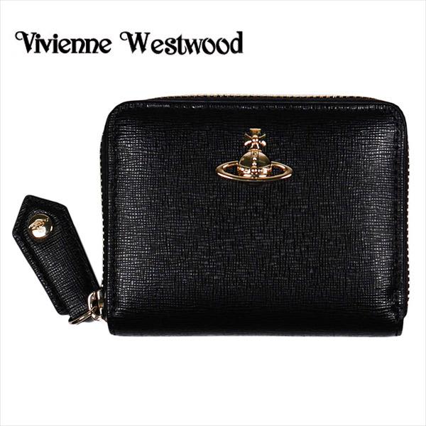 【Vivienne Westwood】ヴィヴィアン ウエストウッド 小銭入れ メンズ/レディース ブラック 51080001 SAFFIANO BLACK【送料無料】