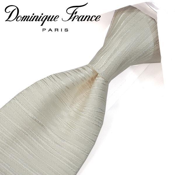 ドミニク・フランス ネクタイ(8cm幅) ツースター DF22【Dominique France・ドミニクフランス ネクタイ】 ホワイト ネクタイ ブランド【送料無料】