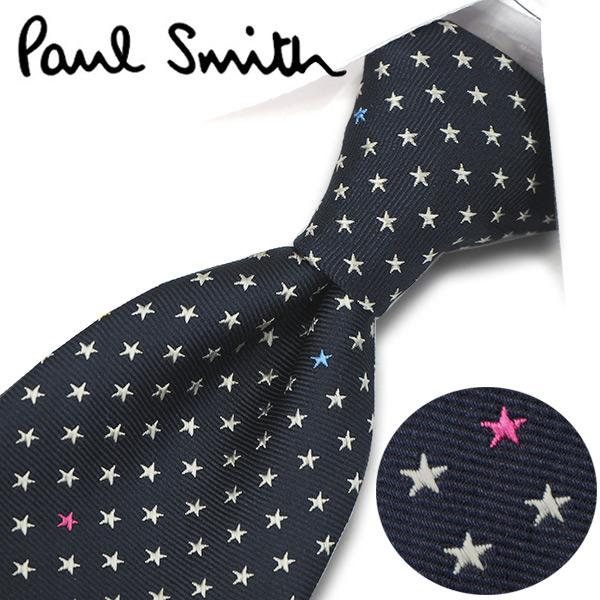 ポールスミス ネクタイ(8cm幅) PS123 【Paul Smith・ポールスミスネクタイ・ネクタイ ブランド】 ネイビー/パールグレー【送料無料】