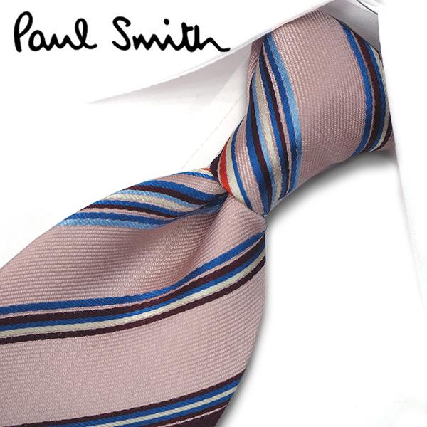 ポールスミス ネクタイ(8cm幅) PS133 【Paul Smith・ポールスミスネクタイ・ネクタイ ブランド】 ピンク/ボルドー【送料無料】